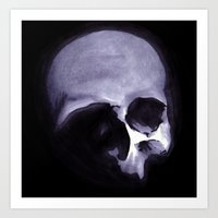 Bones VI Art Print