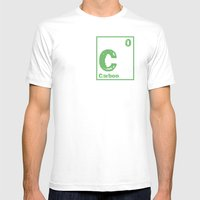 Carbon Neutral Mens Fitted Tee White SMALL