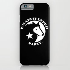 UNAFFILIATED PARTY STENCIL Slim Case iPhone 6s