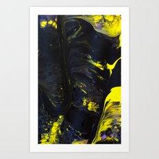Gravity Painting 19 Art Print