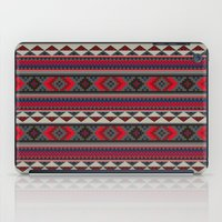 Navajo blanket pattern- red iPad Case