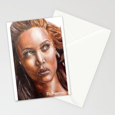 A BLACK BEAUTY     By Davy Wong Stationery Cards