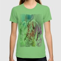 Just Dance! Womens Fitted Tee Grass SMALL