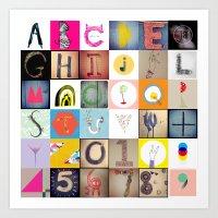 #36daysoftype Handmade Alphabet Art Print