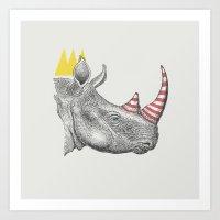Candy King Art Print