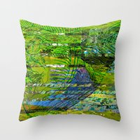 Landscape Of My Heart (s… Throw Pillow