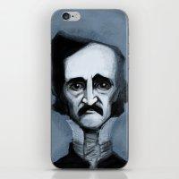 Mr. Alan Poe iPhone & iPod Skin