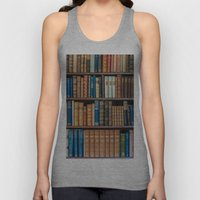 Antique first edition book Collection Unisex Tank Top