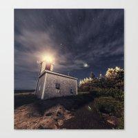 Point Prim Lighthouse Canvas Print