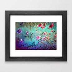 FLEURS DU PRÉ III - Wildflowers in painterly style Framed Art Print