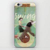 Swing Dance iPhone & iPod Skin