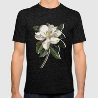 Within a Flower Mens Fitted Tee Tri-Black SMALL