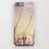 iPhone & iPod Case featuring sea plants (purple) by Anne Dante