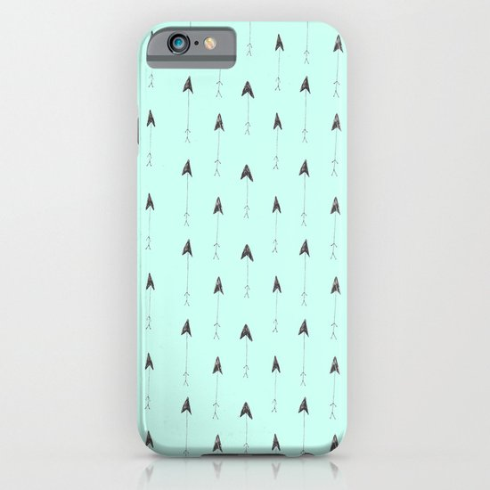 mint magic arrows iPhone & iPod Case