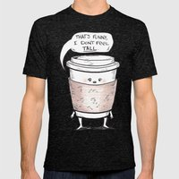 Small Coffee Problems Mens Fitted Tee Tri-Black SMALL