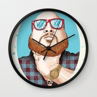 Action Bronson Wall Clock