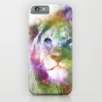 iPhone & iPod Case featuring Lion by NKlein Design