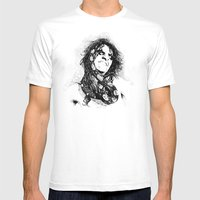 Alice Mens Fitted Tee White SMALL
