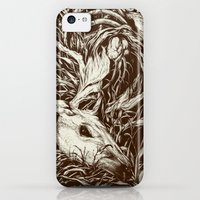 iPhone 5c Cases featuring doe-eyed by Teagan White