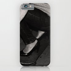 skateboarding girl iPhone 6 Slim Case