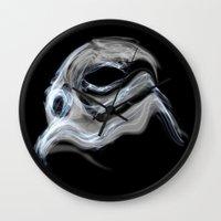 Smoky Trooper Wall Clock