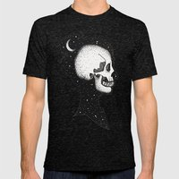 Cloud Walker Mens Fitted Tee Tri-Black SMALL
