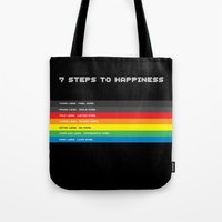 7 Steps To Happiness Tote Bag