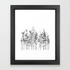 Wild flowers. Framed Art Print