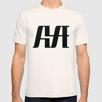 Hype Mens Fitted Tee Natural SMALL