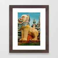Kong Framed Art Print