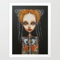 girlA Art Print
