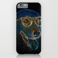 iPhone & iPod Case featuring Geek Dog by Msimioni