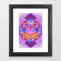 Funky Reincarnation-Lady Jasmine Framed Art Print