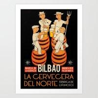 La Cervecera Del Norte Art Print