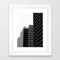 Corners Framed Art Print
