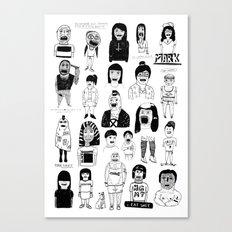 PEEPZ Canvas Print