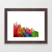 Colours Framed Art Print