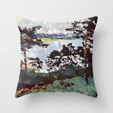 Landscape N. 5 Throw Pillow