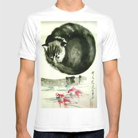 Cunning Cat Mens Fitted Tee White SMALL