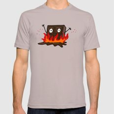 Spicy Chocolate Mens Fitted Tee Cinder SMALL