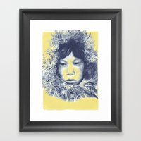 Just Before The War With… Framed Art Print