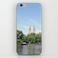 Central Park Lake iPhone & iPod Skin