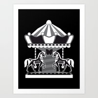 Merry Go 'Round, Part II Art Print