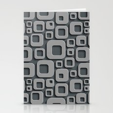 Abstract V-1 Stationery Cards