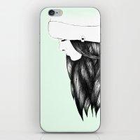 Snow Girl iPhone & iPod Skin