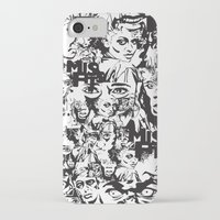 community iPhone & iPod Cases featuring Community Blowback by InariRaith