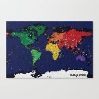 Global Citizen Canvas Print
