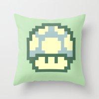 Mushy 2 Throw Pillow