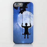 iPhone & iPod Case featuring Childhood dreams, The Swing by CreativeByDesign