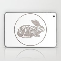 In Which A Rabbits Anato… Laptop & iPad Skin